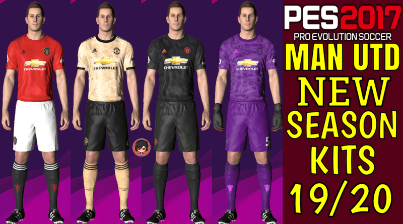 PES 2017 | MANCHESTER UNITED OFFICIAL KITS 19/20
