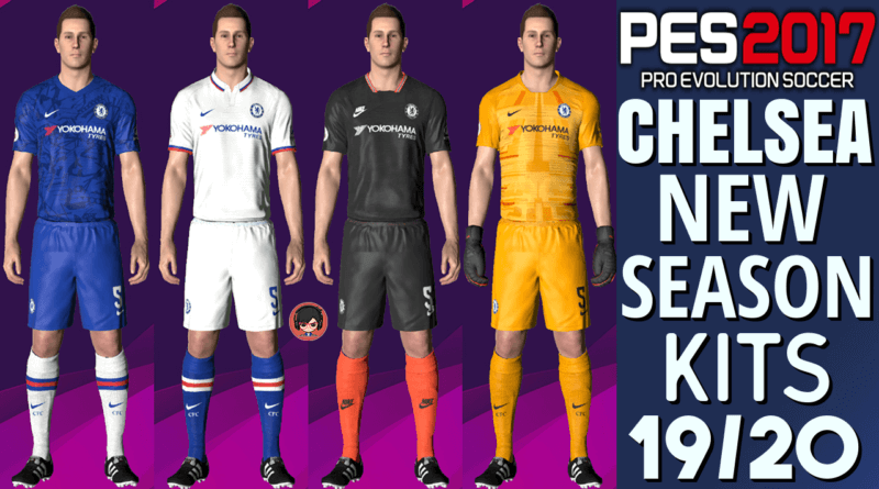 PES 2017 CHELSEA NEW KITS 2019/2020 Archives | Gaming WitH TR