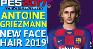 PES 2017 | ANTOINE GRIEZMANN | NEW FACE & HAIR 2019