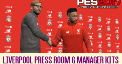 PES 2017 | LIVERPOOL PRESS ROOM & MANAGER KITS