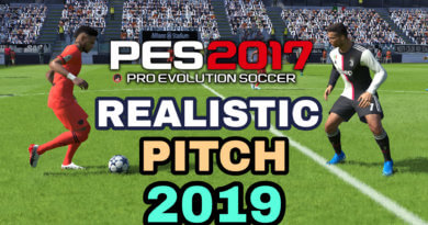 PES 2017 | REALISTIC PITCH 2019