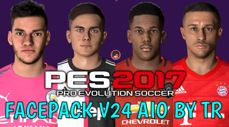 PES 2017 | FACEPACK V24 AIO BY TR