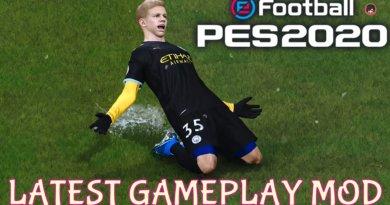 PES 2020   LATEST GAMEPLAY MOD