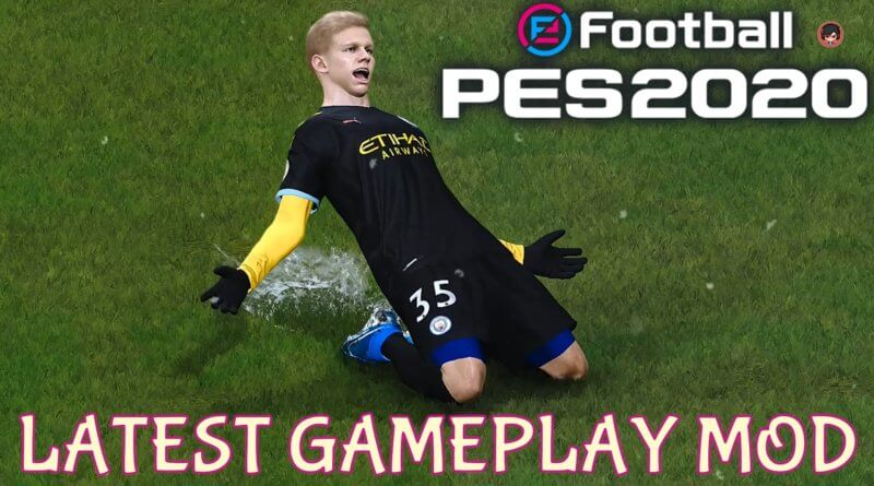 PES 2020 | LATEST GAMEPLAY MOD | Gaming WitH TR
