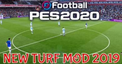 PES 2020   NEW TURF MOD 2019