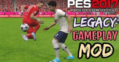 PES 2017 | LEGACY GAMEPLAY MOD