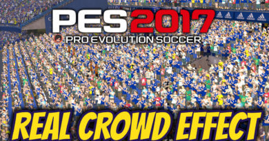 PES 2017 | REAL CROWD EFFECT