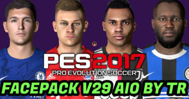 PES 2017 | FACEPACK V29 AIO BY TR