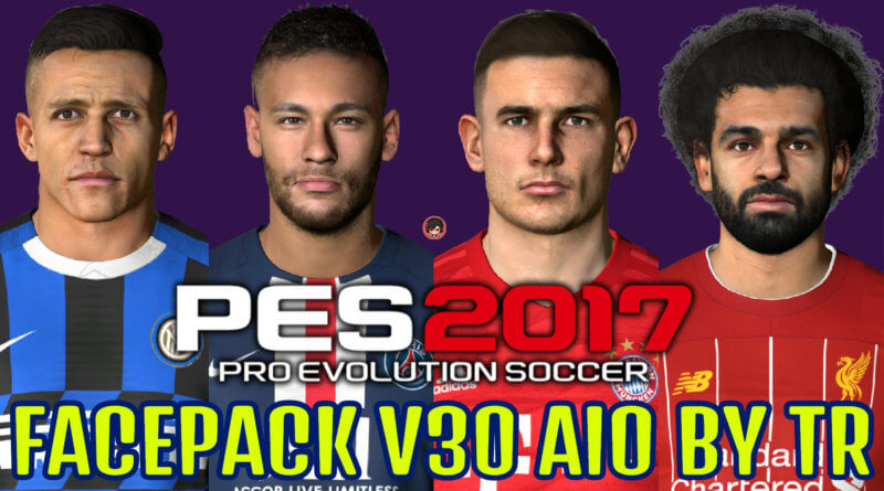 PES 2017 | FACEPACK V30 AIO BY TR