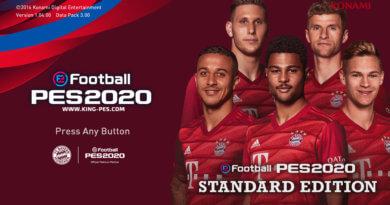 PES 2017 | BAYERN MUNICH | PES 2020 GRAPHIC MENU