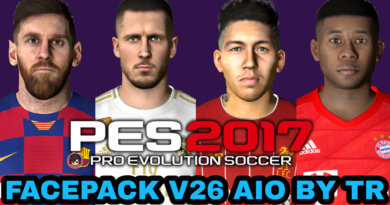 PES 2017   FACEPACK V26 AIO BY TR