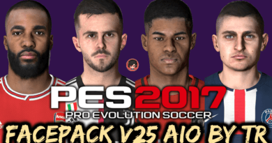 PES 2017   FACEPACK V25 AIO BY TR