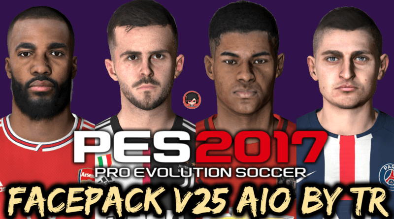 PES 2017 | FACEPACK V25 AIO BY TR