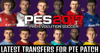PES 2017 | LATEST TRANSFERS FOR PTE PATCH