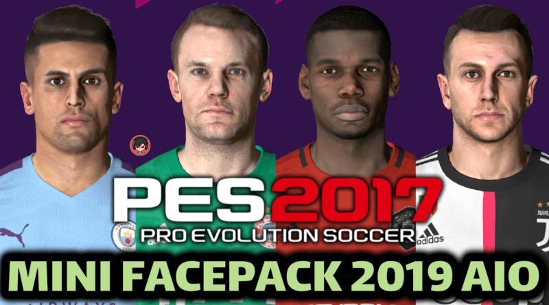 PES 2017 | MINI FACEPACK 2019 AIO