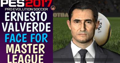 PES 2017 | ERNESTO VALVERDE FACE FOR MASTER LEAGUE