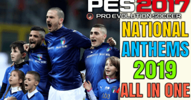PES 2017 | NATIONAL ANTHEMS 2019