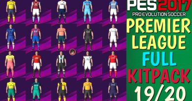PES 2017 | PREMIER LEAGUE FULL KITPACK 19/20