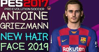 PES 2017   ANTOINE GRIEZMANN   NEW HAIR & FACE 2019