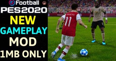 PES 2020 | NEW GAMEPLAY MOD