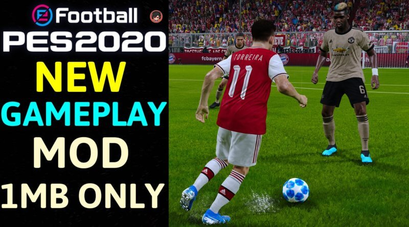 PES 2020 | NEW GAMEPLAY MOD