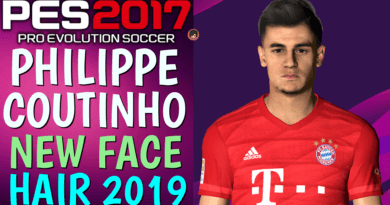 PES 2017 | PHILIPPE COUTINHO | NEW FACE & HAIR 2019
