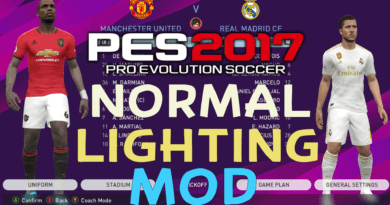PES 2017 | NORMAL LIGHTING MOD