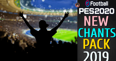 PES 2020   NEW CHANTS PACK 2019