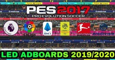 PES 2017 | LED ADBOARDS 2019/2020