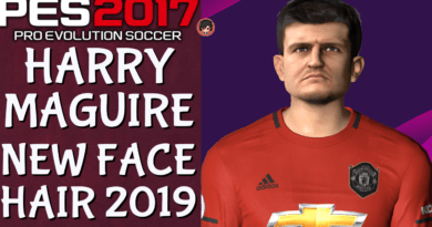 PES 2017 | HARRY MAGUIRE | NEW FACE & HAIR 2019