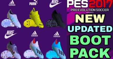 PES 2017 | NEW UPDATED BOOTPACK