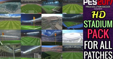 PES 2017 | HD STADIUM PACK FOR ALL PATCHES