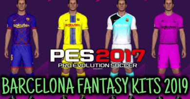 PES 2017 | BARCELONA FANTASY KITPACK 2019