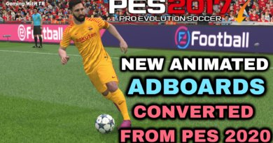 PES 2017 | NEW ANIMATED ADBOARDS | CONVERTED FROM PES 2020