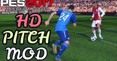 PES 2017   HD PITCH MOD