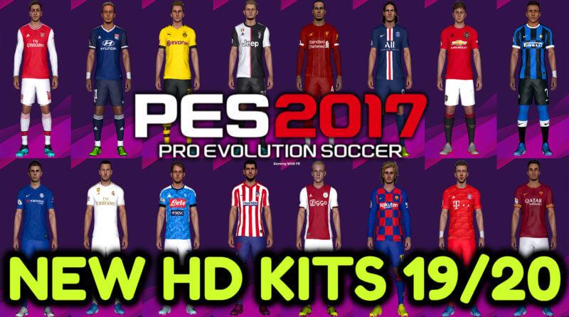 PES 2017   NEW HD KITS 2019/2020