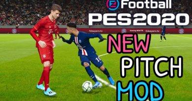 PES 2020   NEW PITCH MOD