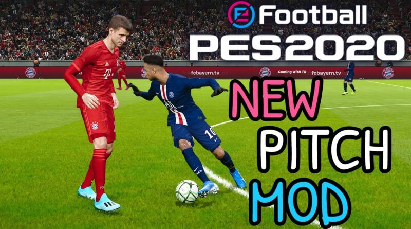 PES 2020 | NEW PITCH MOD