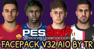 PES 2017 | FACEPACK V32 AIO BY TR