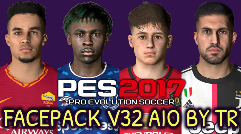 PES 2017   FACEPACK V32 AIO BY TR