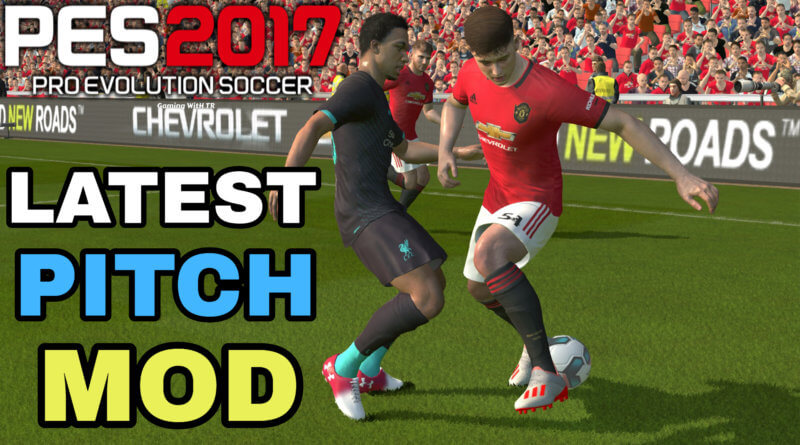 PES 2017 | LATEST PITCH MOD