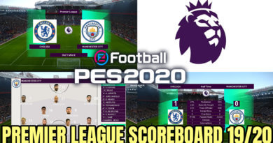 PES 2020 | PREMIER LEAGUE SCOREBOARD 2019/2020