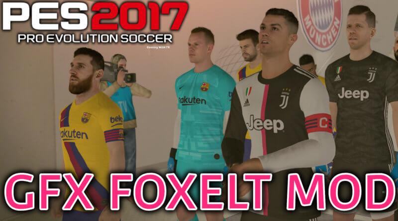 PES 2017   GFX FOXELT MOD