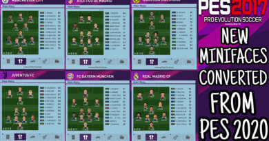 PES 2017 | NEW MINIFACES CONVERTED FROM PES 2020