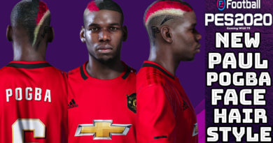 PES 2020 | NEW PAUL POGBA FACE & HAIRSTYLE
