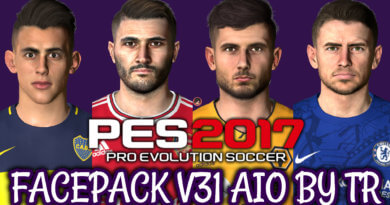 PES 2017 | FACEPACK V31 AIO BY TR