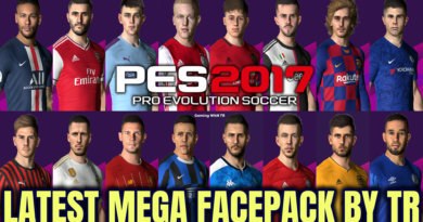 PES 2017 | LATEST MEGA FACEPACK BY TR | 500+ FACES