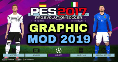 PES 2017 | NEW GRAPHIC MOD 2019