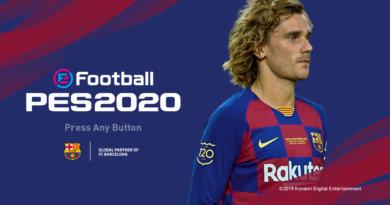 PES 2020   BARCELONA MENU MOD