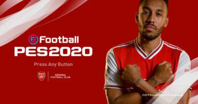 PES 2020 | ARSENAL MENU MOD 2019